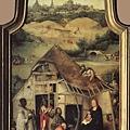 Hieronymus Bosch - Adoration of the Magi(1510, 三聯畫中幅)