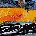 楚戈 畫作「田園頌」