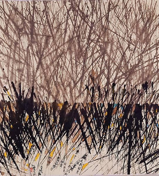 楚戈 詩畫(2007, 汨羅)