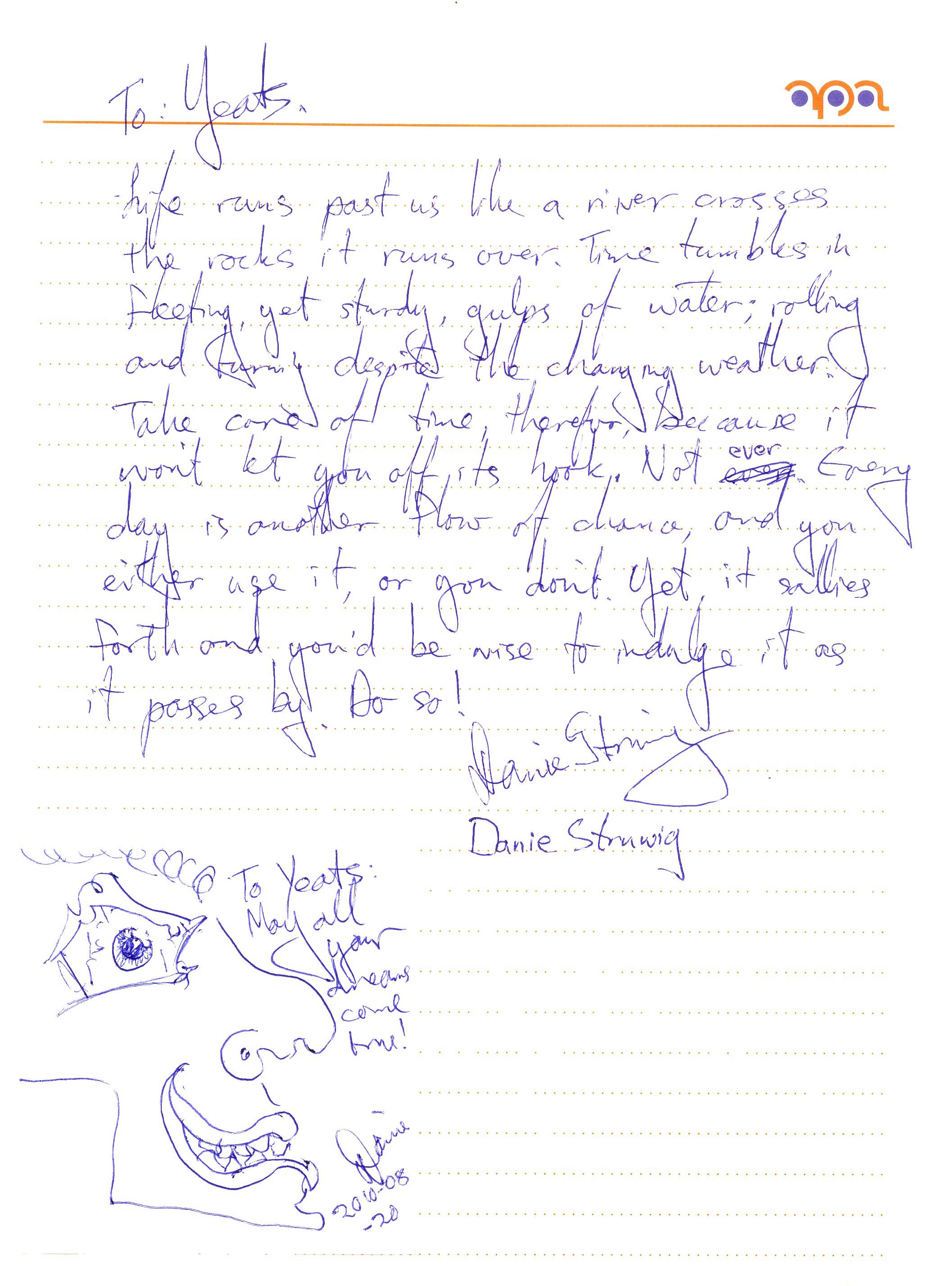 Danie's Poem & Draw