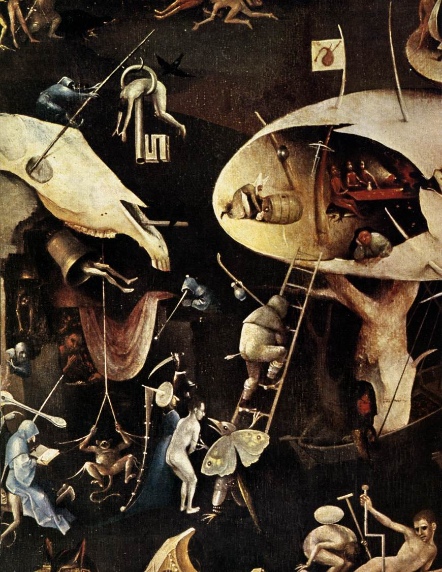 Hieronymus Bosch - The Garden of Earthly Delights(1500-1510, 右幅「地獄」局部)
