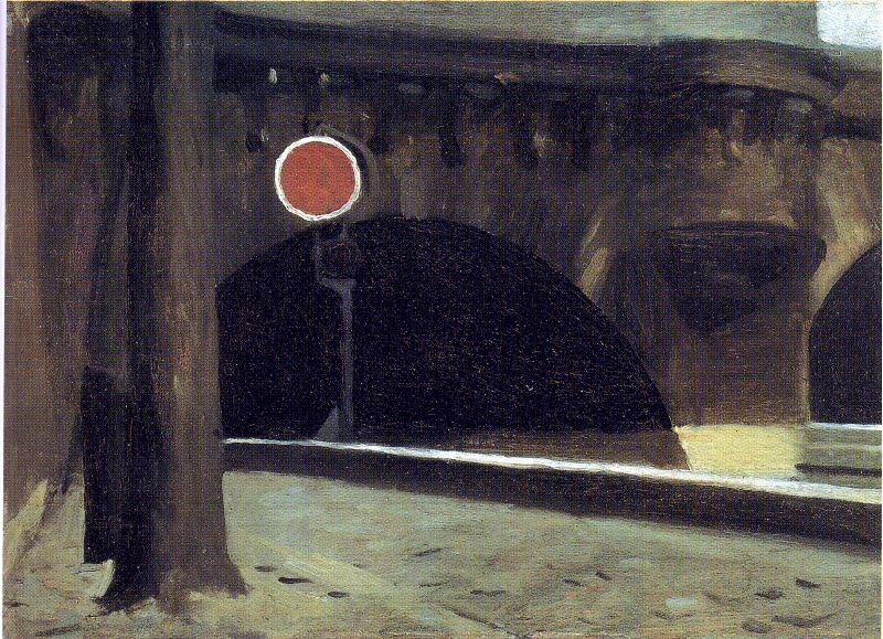 Edward Hopper - Bridge in Paris, 1906