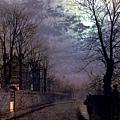 A Lane In Headingley Leeds -1881