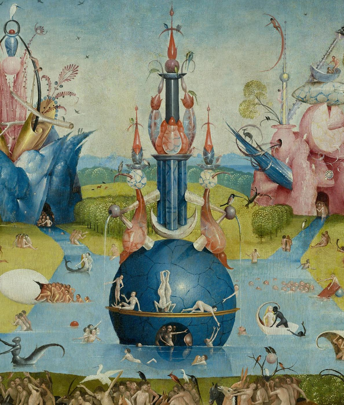 Hieronymus Bosch - The Garden of Earthly Delights(1500-1510, 中幅「塵世」局部)