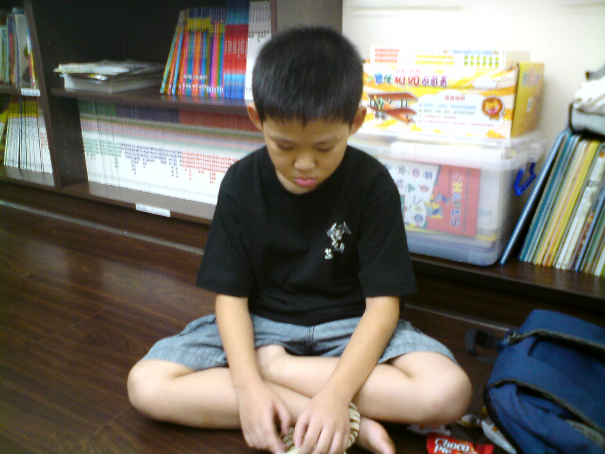 小小Jeffery才上二年級