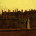 In The Golden Gloaming -1881