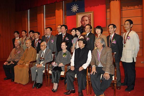 100年中國文藝獎章頒獎典禮