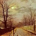 Lane In Cheshire -1883