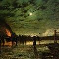 In Peril. Leeds City Art Gallery -1879