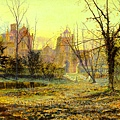 Evening, Knostrop Old Hall 1870