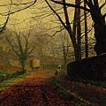 Autumn Sunshine Stapelton Park -1880