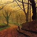 Stapleton Park near Pontefract -1882