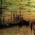 Humber Docks, Hull -1884