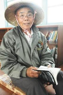 雲林七十歲農夫蔡振明,為了替返鄉推動閱讀的吳永修夫婦圓夢,把兩季稻子的收入十二萬元,用來捐設「讀冊館」