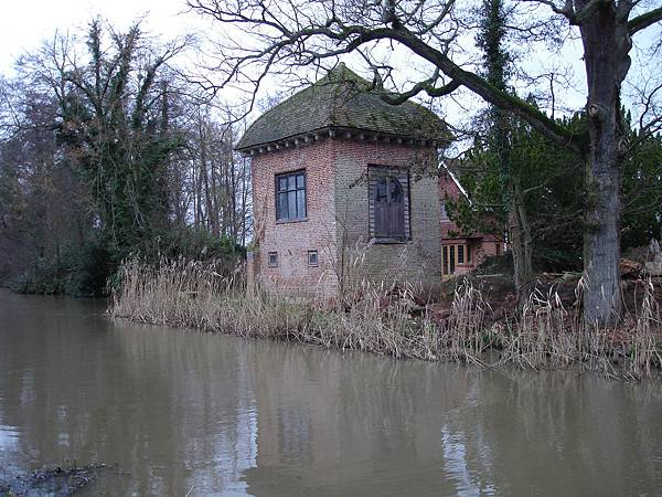 Part of the house where John Donne lived in Pyrford