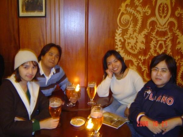 我們在挪威的酒吧