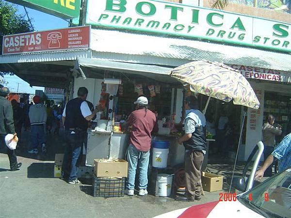 Tijuana小販--果汁攤