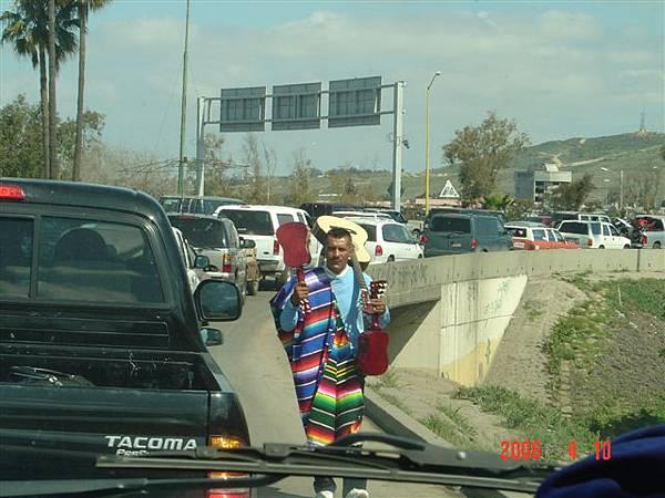 邊界公路旁