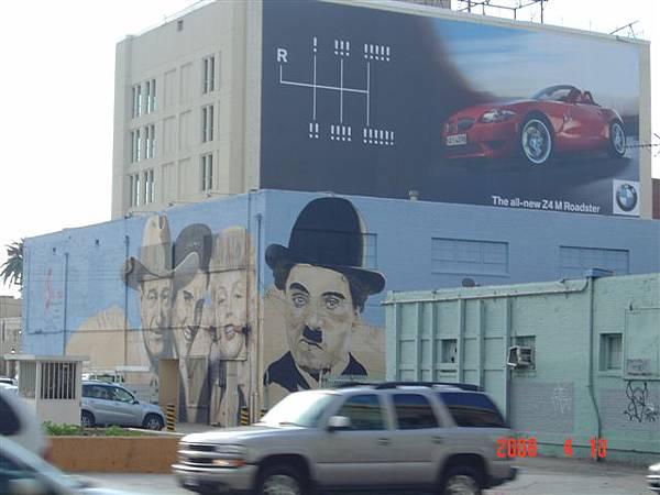 好萊塢鄰近街景