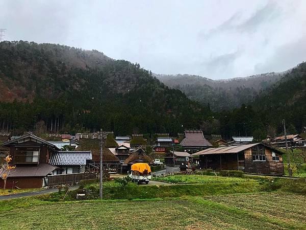 【日本關西 】三大茅草屋之里制霸 森之京都美山町遇見初雪