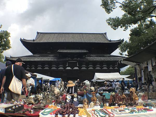 【日本關西】京都東寺 每月21日限定弘法市集