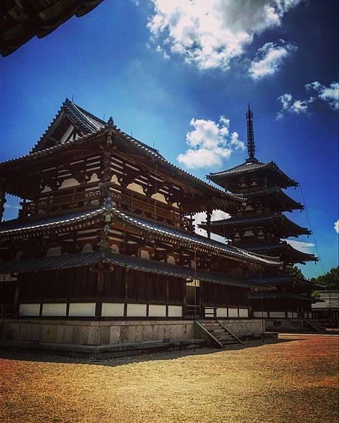 【日本關西】JR法隆寺站出發 奈良世界遺產法隆寺散策