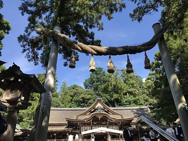 【日本關西】奈良三輪明神大神神社 看繩鳥居喝御神水
