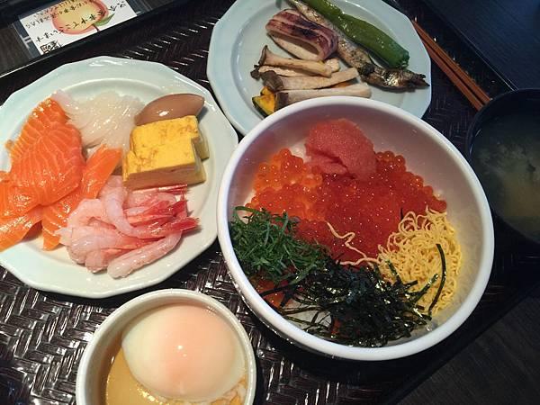 函館La Vista早餐
