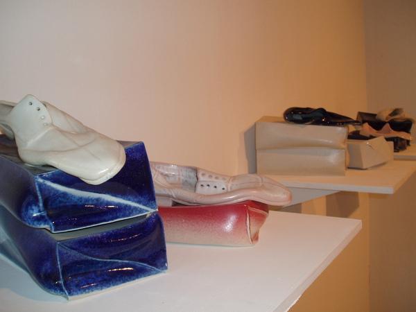 踩爛的鞋..是藝術品