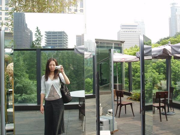 美術館的頂樓陽台