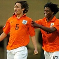 Daley Blind (left)