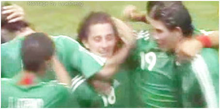Mexico first goal by Guardado