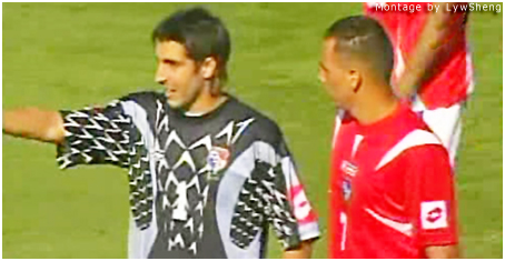 Jaime Penedo and Blas Perez