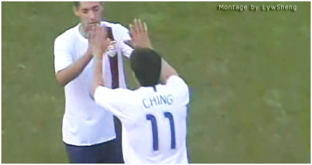 Clint Dempsey and Brian Ching