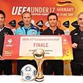 Coaches Mario Pezzaiuoli, Abdullah Ercan, Albert Stuivenberg and John Peacock