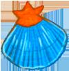 水躍魚小貝殼