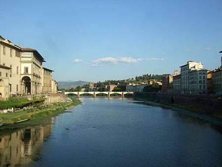 舊橋上拍亞諾河