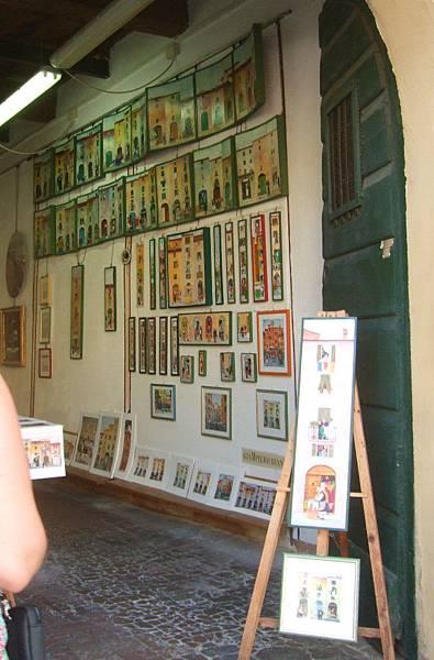 販賣可愛畫作的小商店