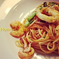 番茄海鮮義大利麵
