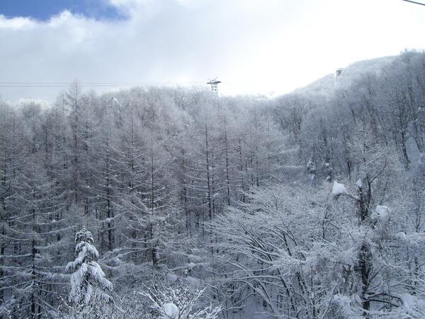 一直在下雪
