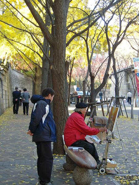 街頭老畫家