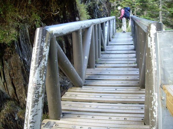 過了這座橋就到排雲山莊了.JPG