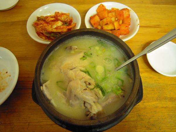 第一名的蔘雞湯