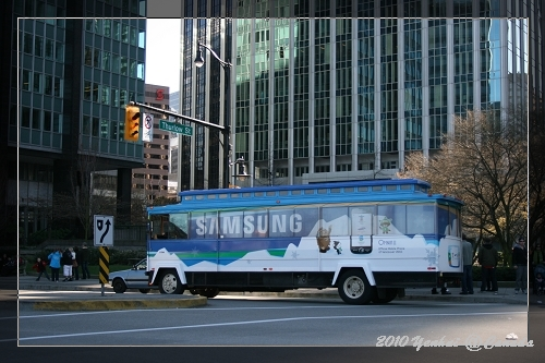 溫哥華街頭-到處有SAMSUN