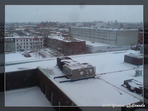 大雪後的早晨