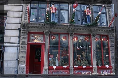 MONTREAL-舊城區-可愛的聖誕節店