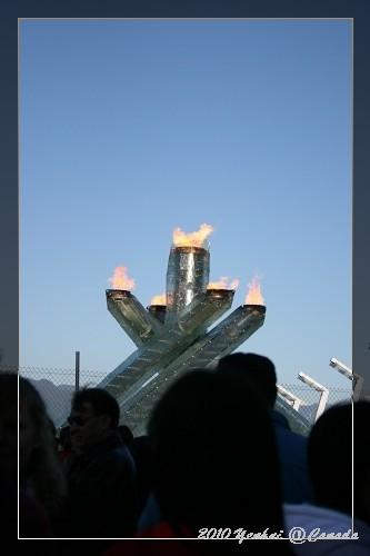 溫哥華街頭-奧運聖火