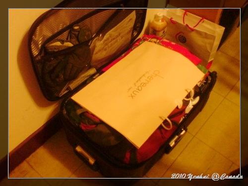 大包的行李~