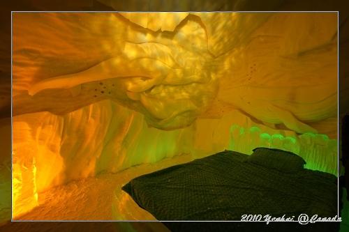 ICE HOTEL-有冰雕的房