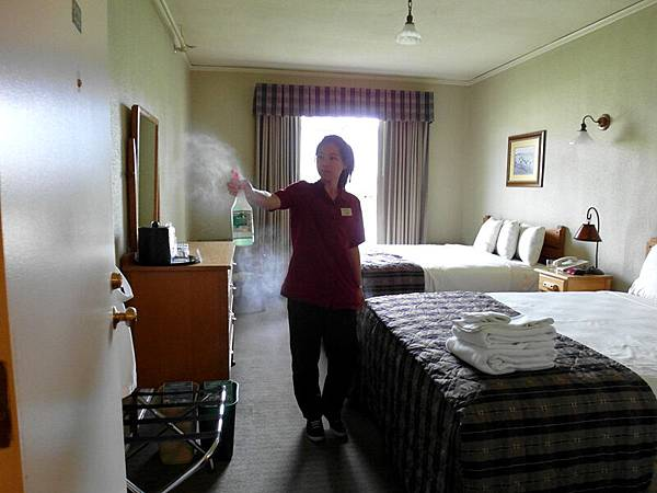 housekeeping at YNP